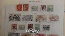 France Chargé Collection De Timbres Scott Album International 1983