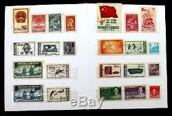 G Collection De Timbres Anciens De Chine, Lot De 95 Mnh, Album De Timbres De Chine D'époque