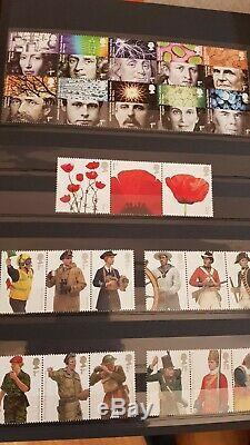 GB Album Collection De Timbres George V À Elizabeth 2