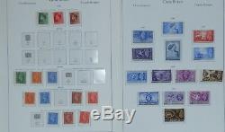 GB Collection Albums Leaves 1902 1969 Mint Mnh Peu Utilisés Ensembles Longs Lot Propre