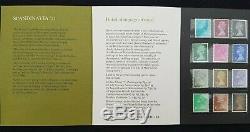 GB Définitive Présentation Collection Pack 1967-1977 Dans Qualité Royal Mail Album