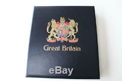 GB Luxe Sg Davo Sans Charnière Album II Avec Mnh Stamp Collection Visage Val £ 188