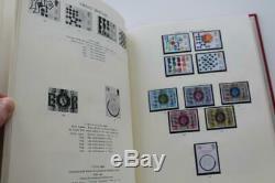 GB Windsor Album Avec Et Sans Charnière Mounts Mnh Stamp Face Collection Val £ 160