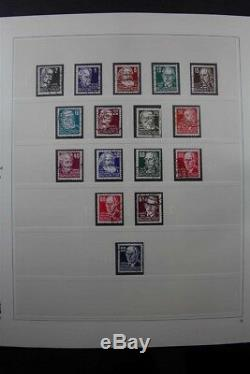 Germany Ddr 1949-1990 Used + Extras Collection De Stamps Premium 7 Albums Sains