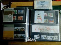 Grand Bureau Collection Post Mint Britannique Timbres De L'album