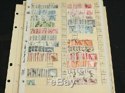 Grande Collection De Timbres Argentine Dans Les Pages 1500+ Stock & Album Classics Withearly +