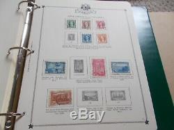 Grande Collection De Timbres Du Canada Album Minkus 1851-1984 Timbres De Valeur Clé C. V. 2000 $ +