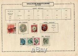 Grande-bretagne 1841/1929 Old Utilisé Collect. Sur L'album Pages, Bonnes Valeurs, CV 4660