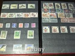Great Britain Mint Stamp Collection Lighthouse Slip In Album