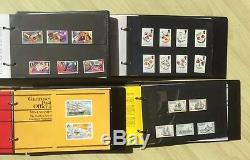 Guernsey Presentation Pack Collection Bumper Plus De 100 Packs Dans 8 Albums Bargin