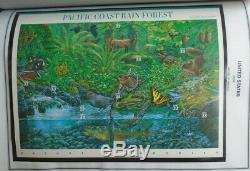 Harris Ambassadeur Des États-unis Album De Timbre Collection 1999-2001 Menthe 480 $ Nh Valeur Nominale