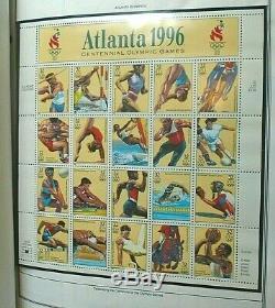 Harris Ambassadeur Des États-unis Collection D'album De Timbres 1995-1998 Menthe 600 $ Nh Valeur Nominale