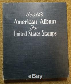 Hou La La! Plus De 1000 Timbres! Collection Album American Scott Historique De Vintage Stamp