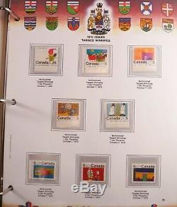 Incroyable Collection De Timbres Du Canada Dans Un Album Presque Complet, 1851-1992 + Bob