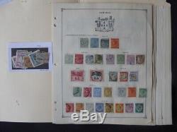 Jamaica Stamp Collection Sur Les Pages Scott Album 1981