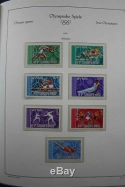 Jeux Olympiques 1972 Mnh Luxus 4 Albums Avec Une Collection De Timbres Dorés Non Perforés