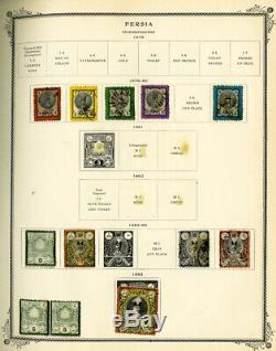 La Collection De Timbres Du Dignitaire Des Albums Immaculés Du Moyen-orient