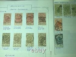 Les Anciens Etats Coloniaux Collection Album Immobilier Pages, Menthe
