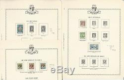 Liechtenstein Stamp Collection 1912-1974 Dans Minkus Spécialité Album, 94 Pages