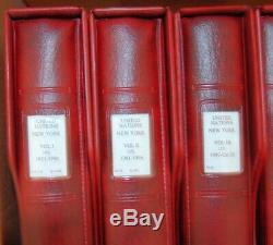 Lindner-7 W Albums Sans Charnière Liants W Un Collection