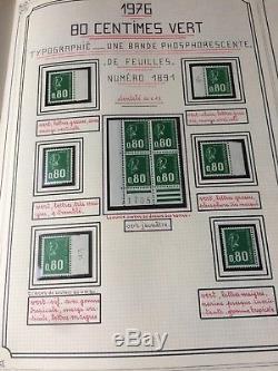 Lot # 85 France Collection Giga Timbres Dont Ceres En Multiple En 12 Albums Yvert