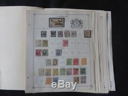 Luxembourg 1874-1966 Collection De Timbres Sur Scott Pages Internationales Timbre Album