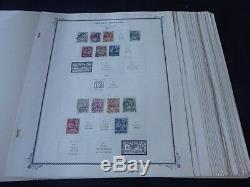 Maroc Français 1891-1955 Collection De Timbres Neufs Et D'occasion Sur Album Spécialisé Scott