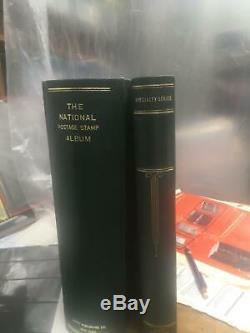 Menthe USA Collection Sans Charnière 2 Albums Scott, 1935-1985, La Valeur Nominale De 225 $ +
