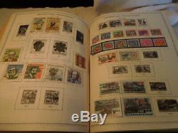 Minkus Chargé Maître Global Stamp Album # 2 De 8 Bu-ex De Nombreux Timbres Collection