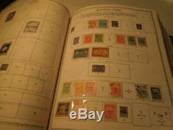 Minkus Supreme & Master Mondial Stamp Album Lot De 5 A-z Beaucoup De Collection De Timbres