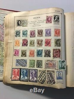 Moc14 Worldwide Collection Ancien Album De Gibbons Bien Rempli