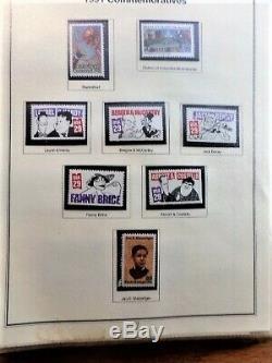 Mystic Héritage 2 De Timbres Us Collection Album Mnh 1990-1997 $ 110,07 Visage Val