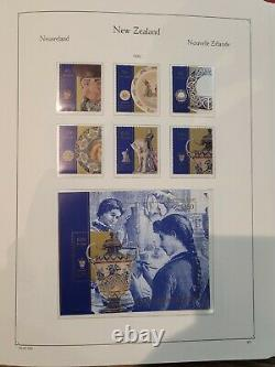 Nouvelle-zélande 1967-97 Near Complete Collection Of Stamps In 2 Kabe Albums Muh