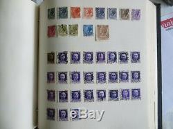 Old Stamp Album GB & Collection World Lot Intéressant Voir Les Photos