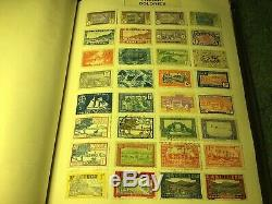 Old Universal Spring Collection Retour Stamp Album 70+ Ans