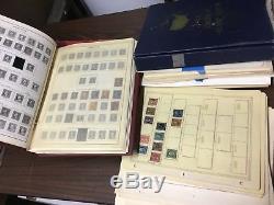 Old Used / Mint Collection De Timbres Américains Sur Pages + Albums! Vente De Biens Trouver! À Voir