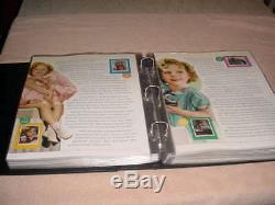 P. C. S. Shirley Temple Stamp Panel Album, 96 Panneaux