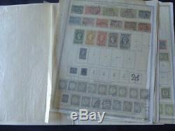 Pays-bas Et Des Colonies 1913-1914 Collection De Timbres Sur Les Pages Album