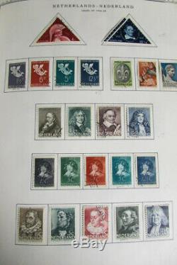 Pays-bas Monnaie Collection Utilisé Dans Minkus Album Stamp