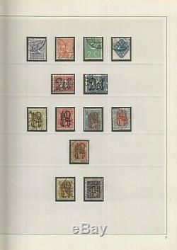 Pays-bas Près Collection Complète D'occasion En 5 X Safe Double Albums 1852-2002
