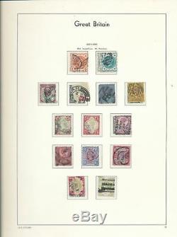 Phare De Grande-bretagne 1840/1970 Album Sans Charnière Collection M & U (apx500) Alb803