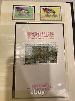 Plus De 200 Timbres De Chine Collection Dans L'album Rare Tout Est Représenté