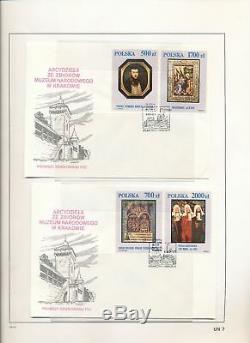 Pologne Pape Jean-paul Religion Covers Cartes Collection De Timbres Dans Albumalb744