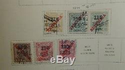 Portugais. Col. Collection De Timbres Dans L'album Scott Specialty Avec 1.050 Timbres -'70