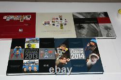 Postes Canada Collections Souvenirs 5 Albums 2010 À 2014