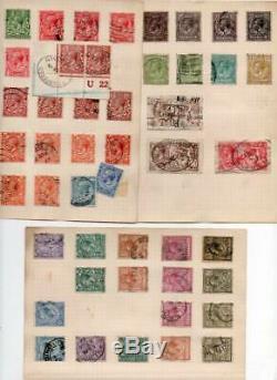 Qv À La Collection Qe2 Petit Album 1840 1d Penny Black 2d Bleu Etc, 100 De