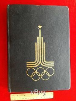 Rare Espace Collection De Livres De Timbres Album Vtg Soviétique Russe Fusée Gagarine Spoutnik