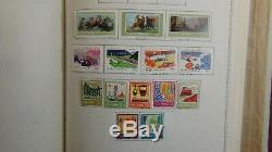 République Populaire De Chine Collection De Timbres En Chine Album Minkus Avec Est. 1058 Timbres Ensembles Haute $$