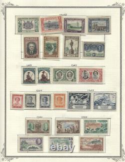 Rhodésie #1//108 Mlh/cv D'usinage 411,70 $ 1924-1964 Collection Sur Pages D'albums
