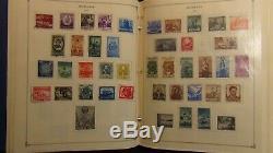 Roumanie Collection De Timbres Scott Album Int'l Avec 1400 Ou Si Stamps'80